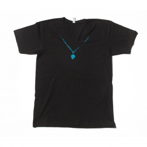 Blue Necklace Shirt