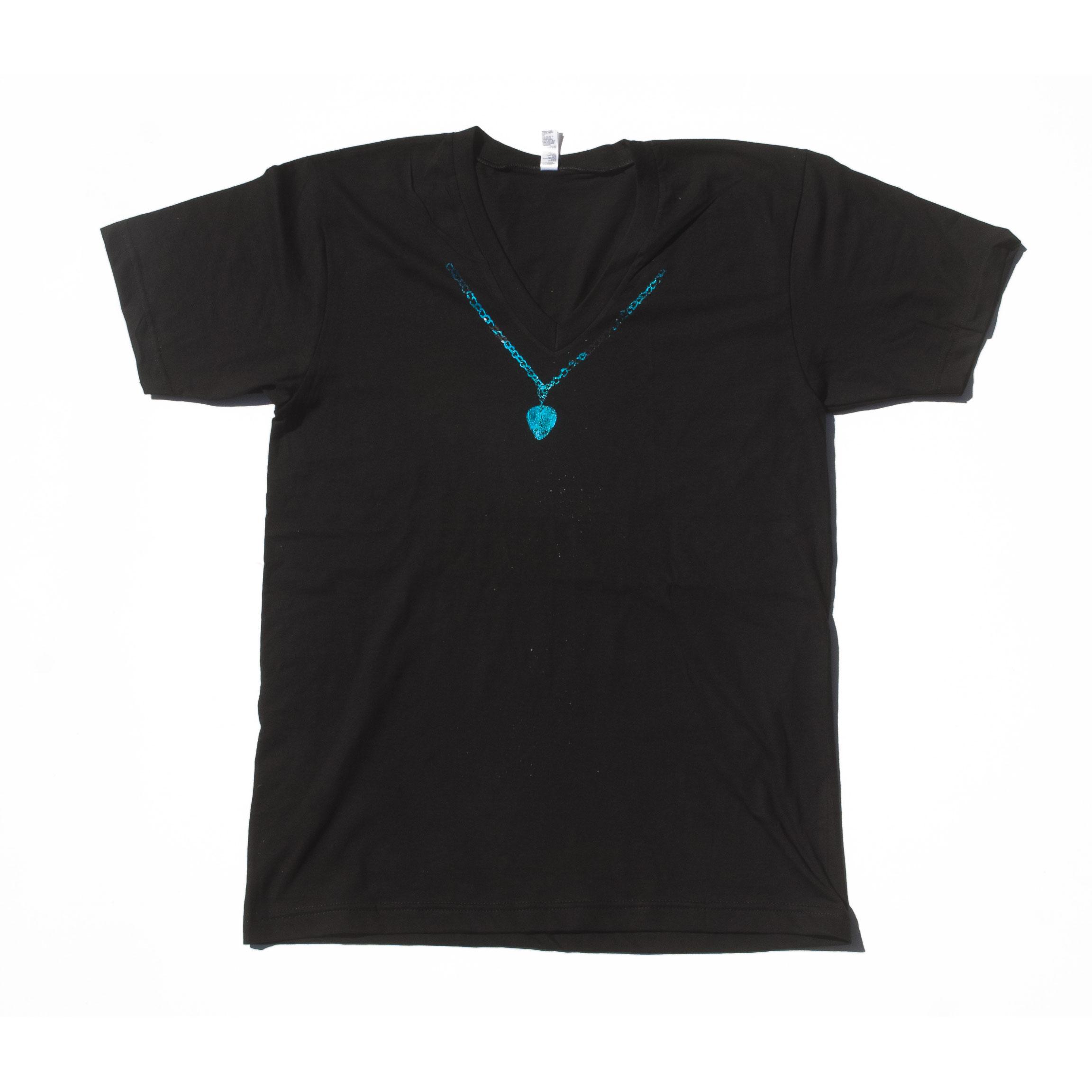 Blue Necklace Shirt