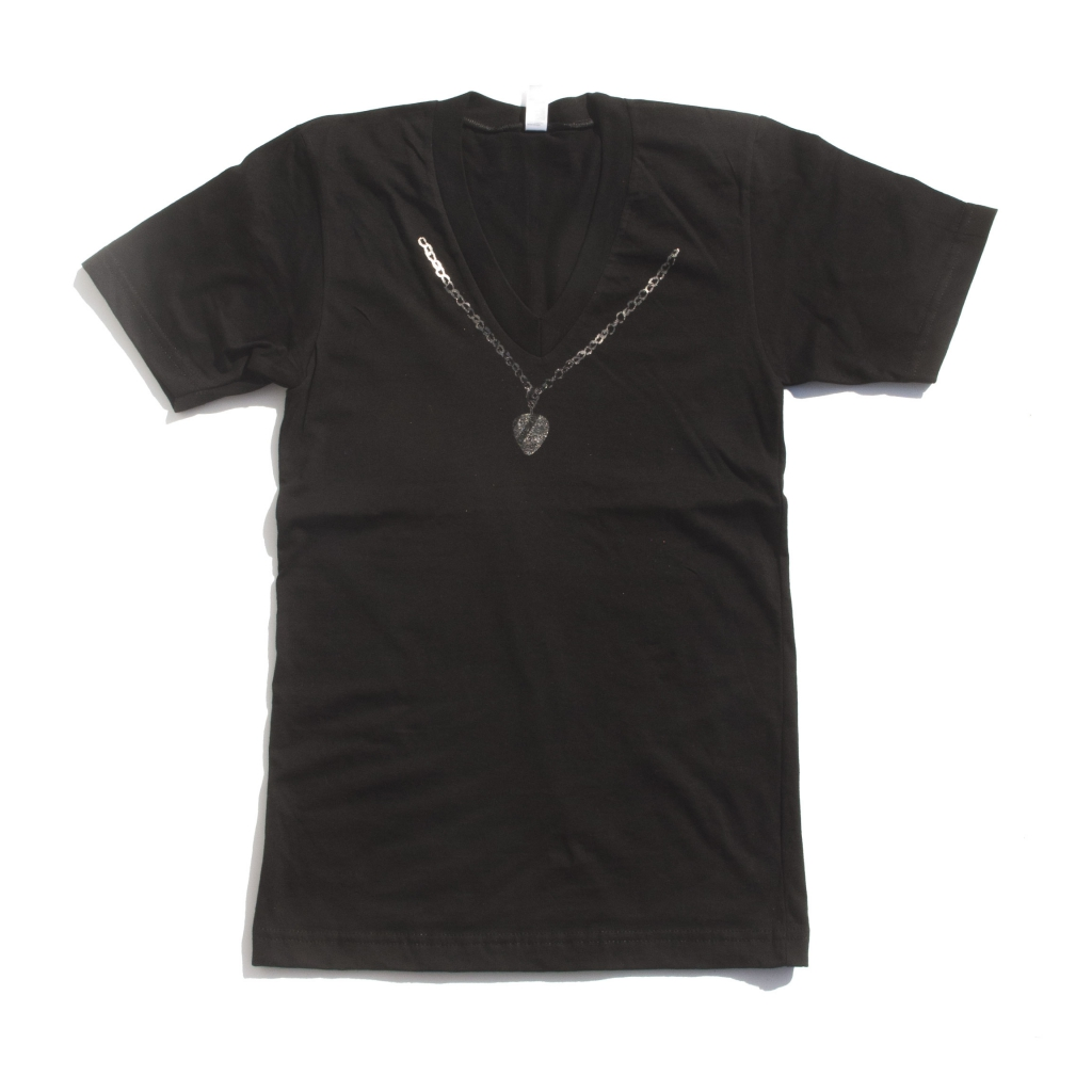 108 Rock Star Necklace Pick Shirt